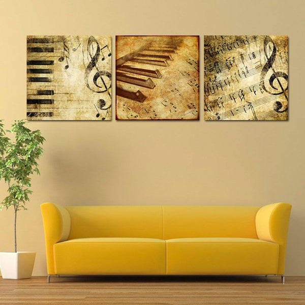 HD Printed music vintage Painting art Canvas Print room decor print poster picture canvas Free shipping/CU-018