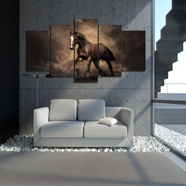 HD Printed Animal horse Painting Canvas Print room decor print poster picture canvas Free shipping/ny-2865