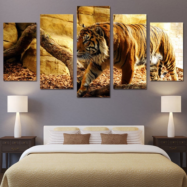 HD Printed Animal tiger Painting Canvas Print room decor print poster picture canvas Free shipping/NY-5943