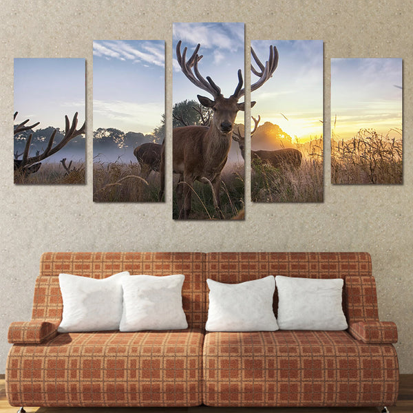 HD Printed Animal deer Painting Canvas Print room decor print poster picture canvas Free shipping/NY-5961