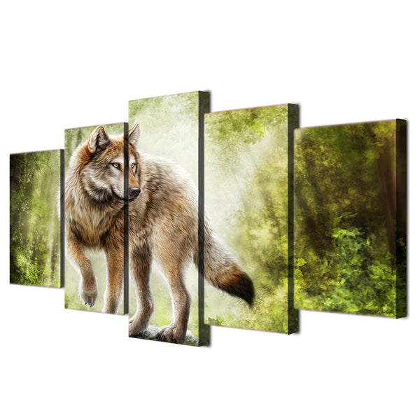HD Printed Animals wolf art Painting Canvas Print room decor print poster picture canvas Free shipping/ny-4174