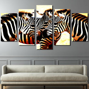 HD Printed zebra mane Painting on canvas room decoration print poster picture canvas Free shipping/ny-4018