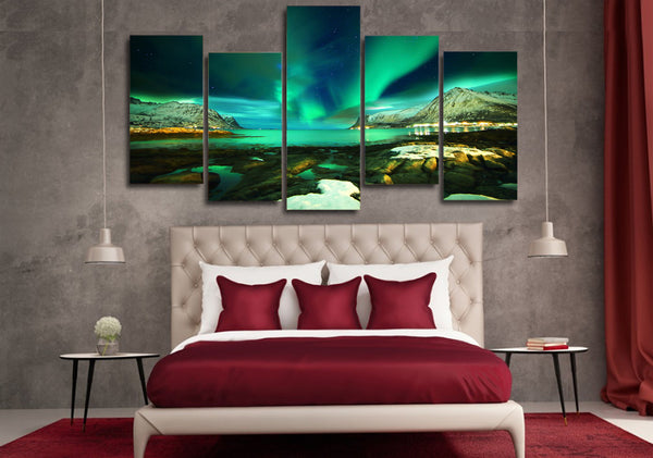 HD Printed islands norway landscape Painting on canvas room decoration print poster picture canvas Free shipping/NY-6324