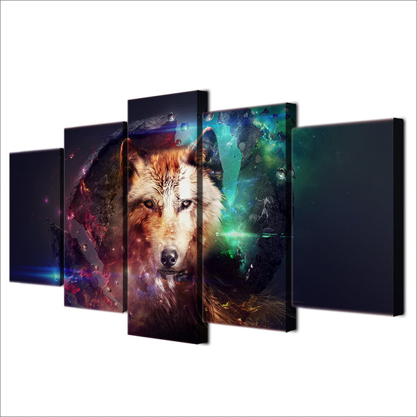 HD Printed wolf Group Painting Canvas Print room decor print poster picture canvas Free shipping/D001