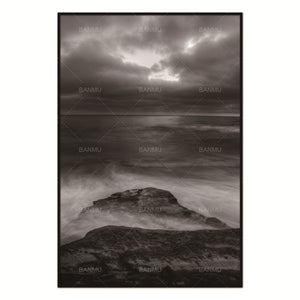 Scandinavian Sea Rock Natural Nordic Abstract Wall Pictures for Living Room Art Decoration Pictures Canvas Painting No Frame