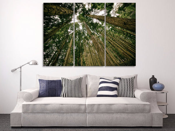 HD Printed forest trees green Painting Canvas Print room decor print poster picture canvas Free shipping/NY-6282
