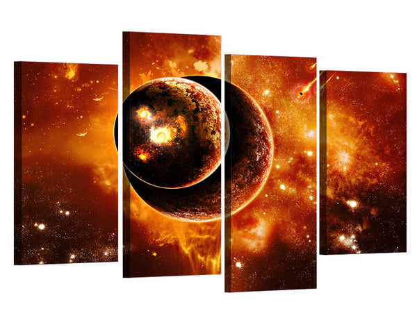 HD Printed Fantasy universe Planet Painting Canvas Print room decor print poster picture canvas Free shipping/ny-5770