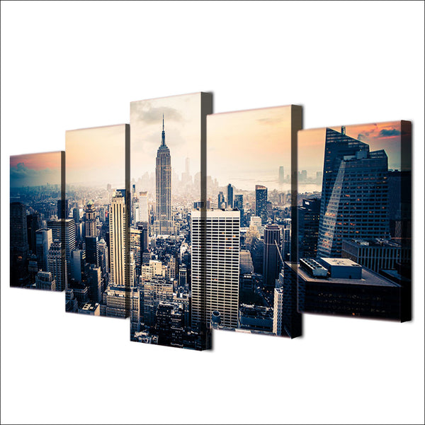 HD Printed new york city Painting on canvas room decoration print poster picture canvas framed Free shipping/ny-1309