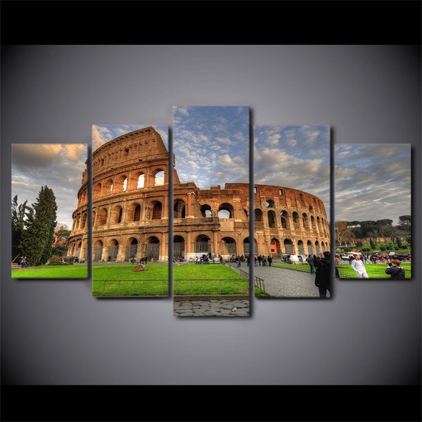 HD Printed Ancient Rome colosseum Painting Canvas Print room decor print poster picture canvas Free shipping/ny-2966