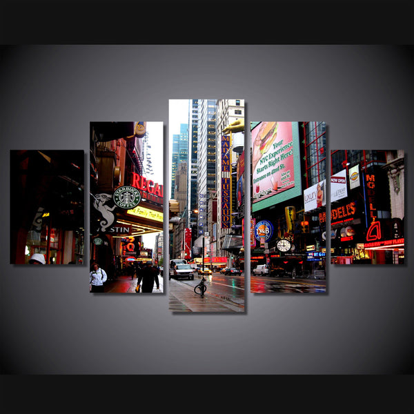HD Printed new york city Painting on canvas room decoration print poster picture canvas framed Free shipping/ny-1311