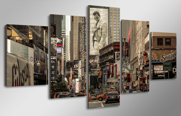 HD Printed the crossroads of the world Painting Canvas Print room decor print poster picture canvas Free shipping/ny-1783