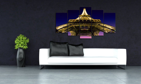 HD Printed Eiffel Tower Landscape Group Painting Canvas Print room decor print poster picture canvas Free shipping/ny-200