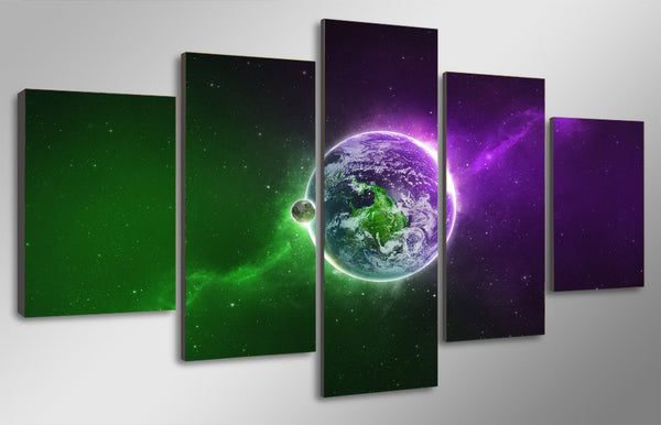 HD Printed Universe Space pictures Painting Canvas Print room decor print poster picture canvas Free shipping/ny-4123