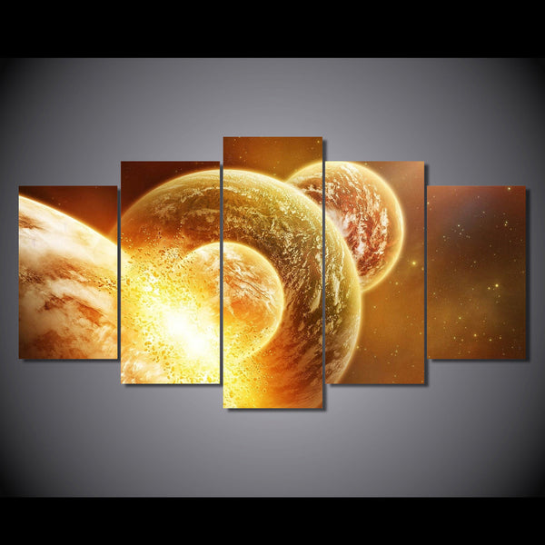 HD Printed cosmos galaxy Painting on canvas room decoration print poster picture canvas Free shipping/NY-5755