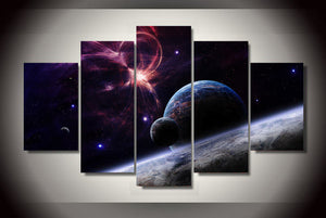 HD Printed planets stars galaxies Painting on canvas room decoration print poster picture canvas Free shipping/ny-1766