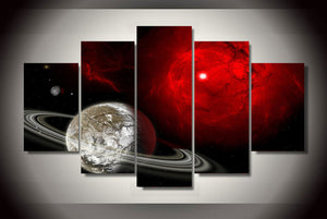 HD Printed Star Universe Painting on canvas room decoration print poster picture canvas Free shipping/ny-1843