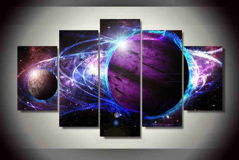 HD Printed cosmos galaxy star energy Painting on canvas room decoration print poster picture canvas Free shipping/ny-1721