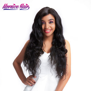 Mornice Hair Peruvian Remy Hair Body Wave 1 Bundle 100% Human Hair 12-26 Inch Hair Bundles Natural Color Free Shipping 100g