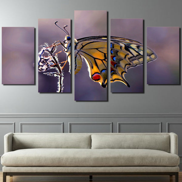 HD Printed Butterfly Photography Painting on canvas room decoration print poster picture canvas Free shipping/ny-1923
