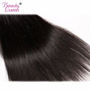 "New Human Hair Bundles 8-28 inch 100% Brazilian Straight Hair Weave Natural Color 8-28"" Can Be Dyed Non Remy Hair Beauty Lueen"