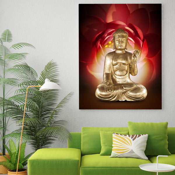 HD printed 1 piece canvas art Buddha Painting on canvas room decoration print poster picture canvas Free shipping/NY-6816C