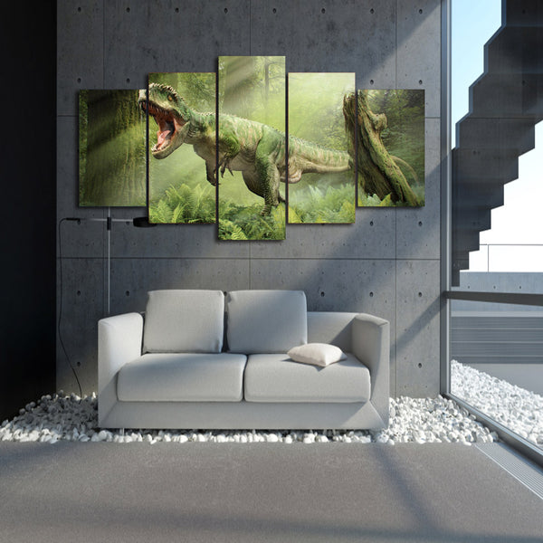 HD Printed Dinosaur Tyrannosaurus Painting on canvas room decoration print poster picture canvas Free shipping/ny-1486