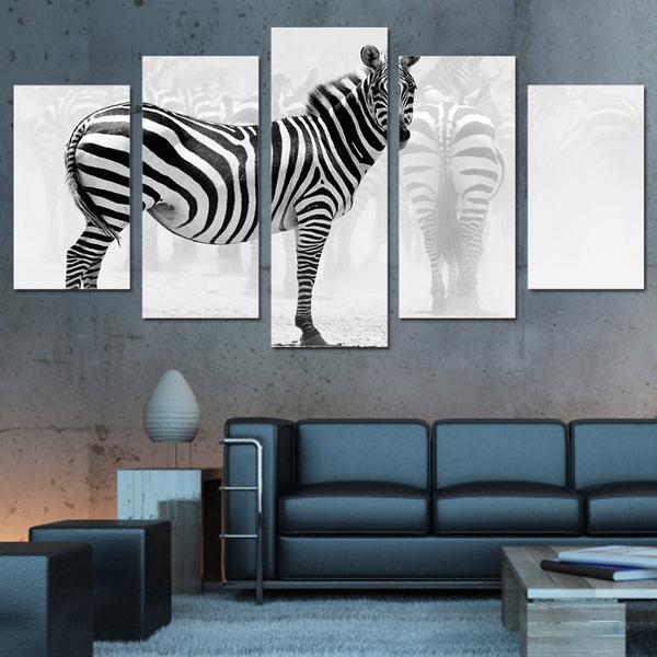 HD Printed  Animal zebra Painting Canvas Print room decor print poster picture canvas Free shipping/NY-5971