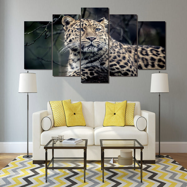 HD Printed Animal leopard Poster Group Painting wall art room decor print poster picture canvas Free shipping/ny-826