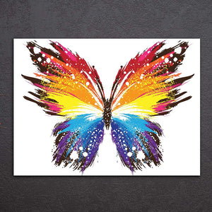 Hd Printed 1 Piece Canvas Painting Insect Poster Color Butterfly