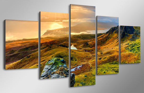 HD Printed  isle of skye scotland Painting Canvas Print room decor print poster picture canvas Free shipping/ny-4932