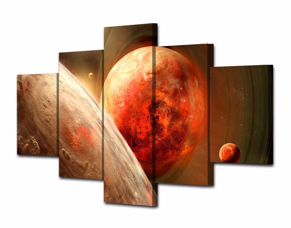 HD Printed Planet of the universe Painting Canvas Print room decor print poster picture canvas Free shipping/NY-5765