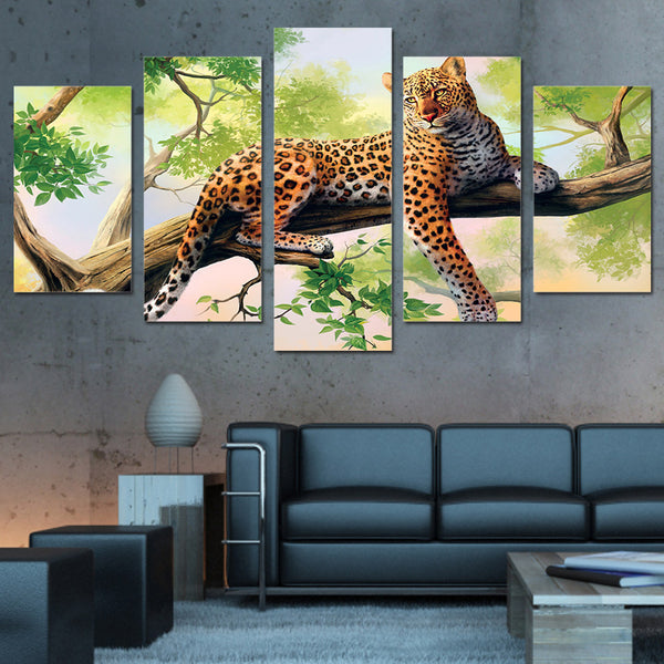 HD Printed  leopard art new Painting Canvas Print room decor print poster picture canvas Free shipping/ny-4560