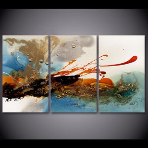 3 piece canvas art ink Sprinkle canvas painting graffiti art posters and prints wall picture for living room ny-6657D