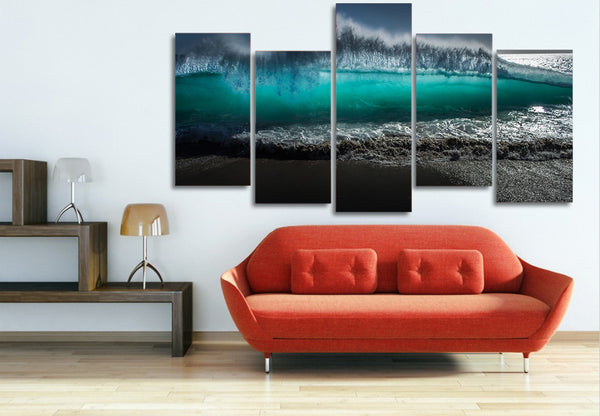 HD Printed Tsunami waves Painting on canvas room decoration print poster picture canvas Free shipping/ny-1467