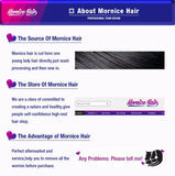 Mornice Hair Brazilian Straight Hair Lace Closure 4X4 Free Part 100% Hand Tied Remy Human Hair Closure Free Shipping
