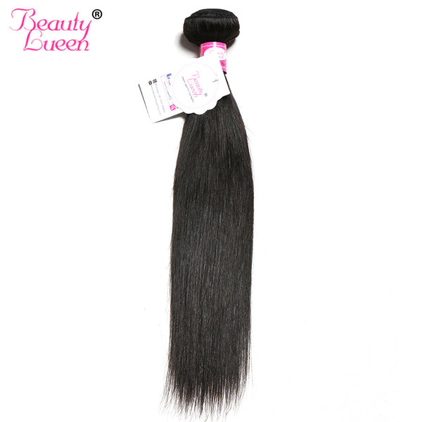 Straight Malaysian Virgin Hair Beauty Lueen Hair Products 100% Human Hair Weave Bundles Natural Color 1 bundles Hair Weaving