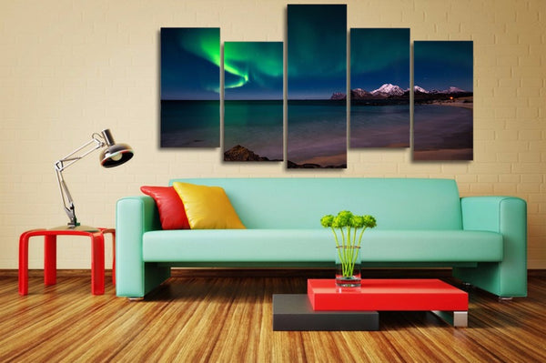 HD Printed Snow Mountain Polar landscape Painting on canvas room decoration print poster picture canvas Free shipping/NY-6326