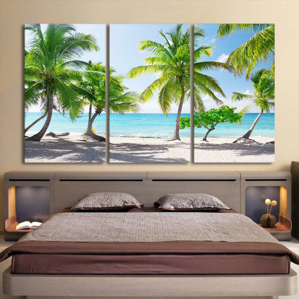 HD printed 3 piece canvas art catalina island dominican republic paintings wall pictures for living room Free shipping PC-8379D