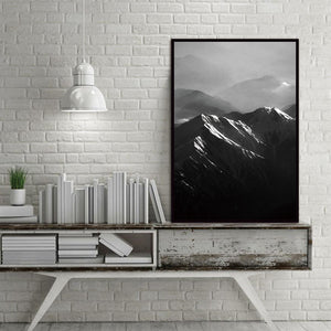 landscape Mountain Nature Nordic Abstract Wall Pictures Art Decoration Pictures Scandinavian Canvas Painting Prints No Frame