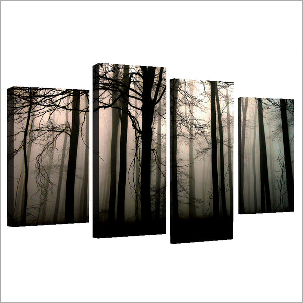 HD Printed 4cps Dark Forest Painting on canvas room decoration print poster picture canvas framed Free shipping/CU-1309B