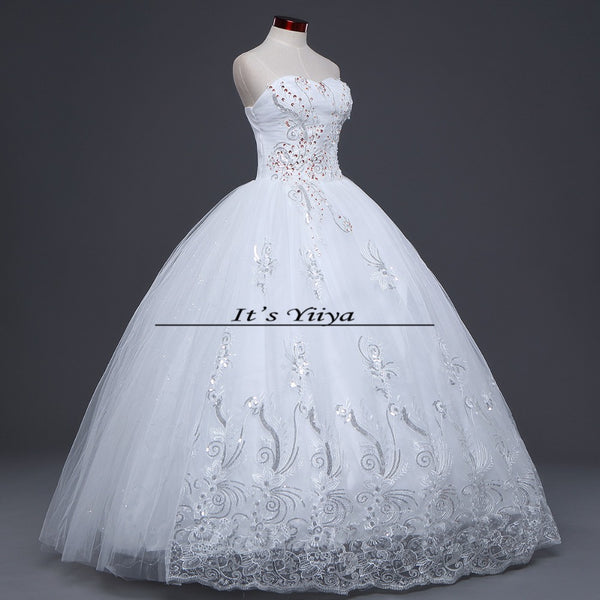 HOT Free shipping new 2015 white princess fashionable lace wedding dress romantic tulle wedding dresses Vestidos De Novia HS099