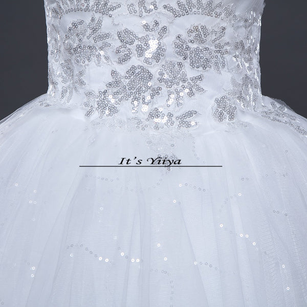 Free shipping 2015 new cheap wedding gown white lace romantic wedding dress bride dresses price under Vestidos De Novia 50 HS122
