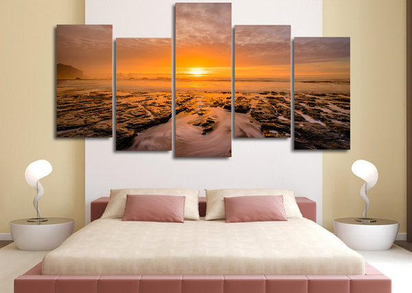 HD Printed dreamy sunset Painting Canvas Print room decor print poster picture canvas Free shipping/ny-947