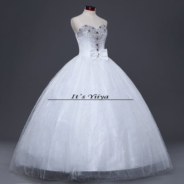 Free shipping YiiYa red wedding gowns cheap plus size lace Vestidos De Novia fashion design bride wedding dresses Y272