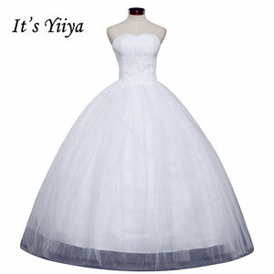 Free shipping 2015 new cheap wedding gown white lace romantic wedding dress price under 50 Vestidos De Novia Bridal dress HS121