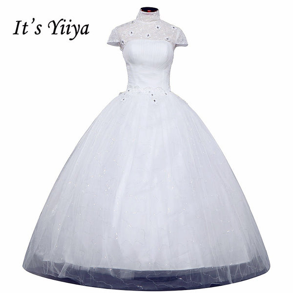 Free shipping new 2015 white princess wedding dress fashion wedding gown high quality wedding dresses Vestidos De Novia HS092