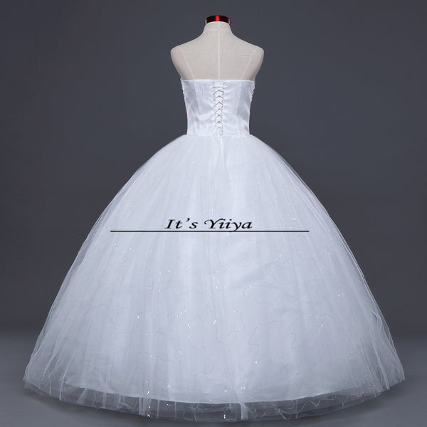 Free shipping 2015 cheap wedding dresses design white wedding gowns fashionable wedding dresses Vestidos De Novia Bridal  HS133