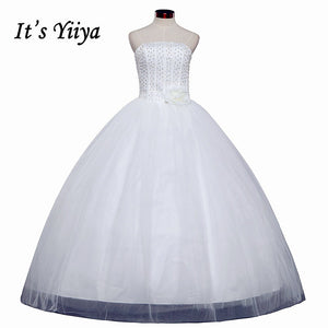 HOT Free shipping sexy wedding dress 2014 plus size princess wedding dresses pearl wedding gowns cheap Vestidos De Novia HS062