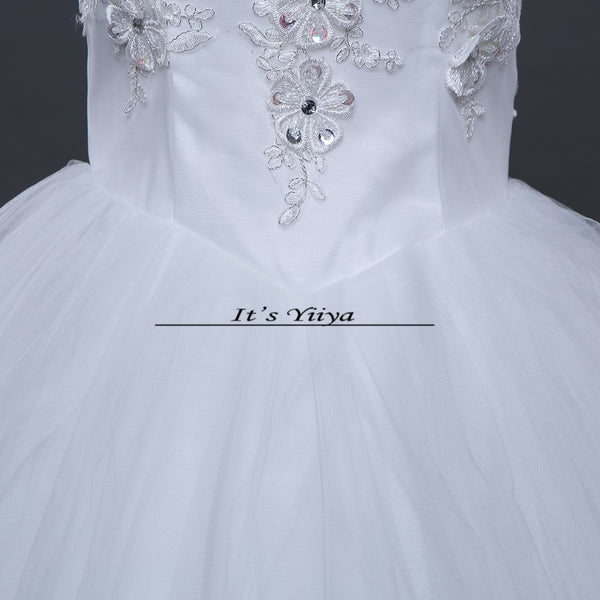 Free shipping 2015 new fashionable lace up cheap Vestidos De Novia white princess wedding dresses remantic wedding gown Y306