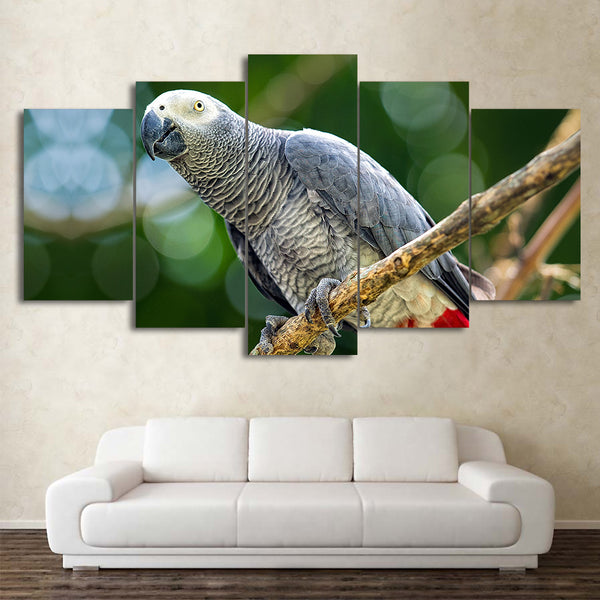 HD Printed 5 Piece Canvas Art Bird Painting Framed  Poster Wall Pictures for Living Room Home Decoration Free Shipping CU-2070A